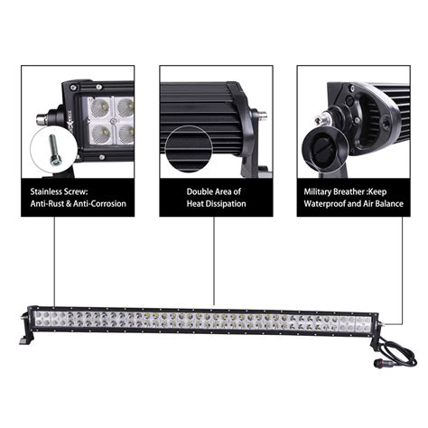 30 led light bar 30 quot dual row led light bars nox lux
