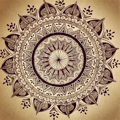 mandala tattoo tumblr mandala ideas