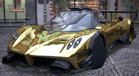 pagani huayra gold pagani zonda r gold 72686 walldevil