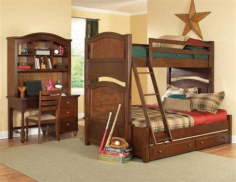 aris youth bunk bed bedroom set kids room sets
