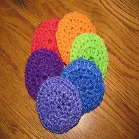pattern for net scrubbies crocheted scrubbies diy the end crochet and thoughts