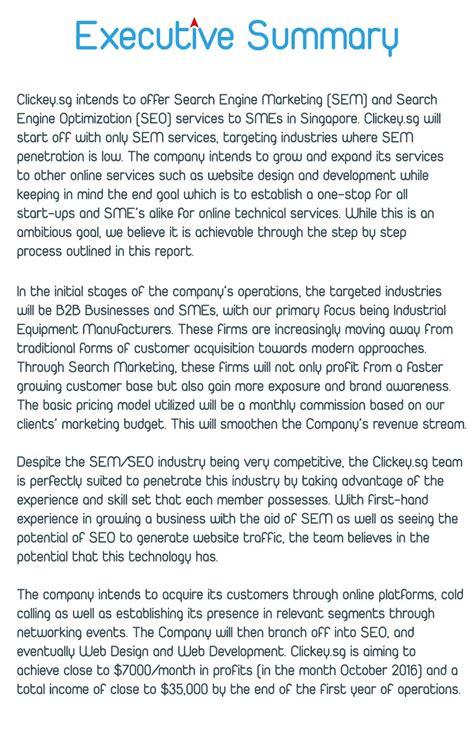 executive summary executive summary templates pinterest