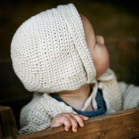 knit baby bonnet organic knit baby bonnet hat eco friendly photo