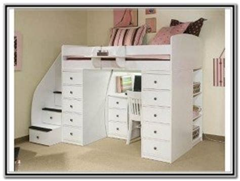Ikea Girls Bed Bunk Beds With Desks Underneath Foter