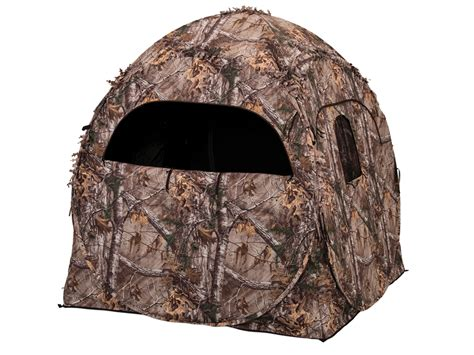 ameristep dog house blind ameristep doghouse ground blind 60 x 60 x 66 polyester realtree xtra