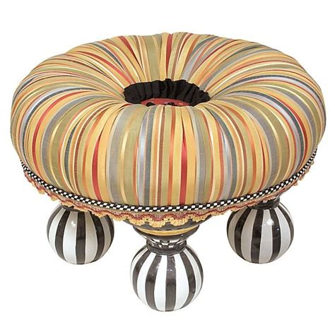 Lea Bedroom Furniture ribbon stripe tuffet