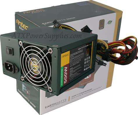 Power Supply 500 Watt Antec Earthwatts Ea 500d 500 Watt Power Supply