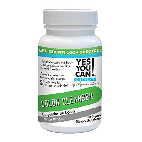 Yes You Can Diet Plan Detox by Yes You Can Diet Plan Colon Cleanser 30 Capsules General
