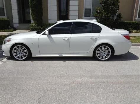 find used 2006 bmw 550i 550 5 5series m sport package 6 speed manual in orlando florida