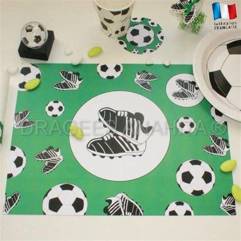 set de table foot 12 sets de table th 232 me football d 233 coration de table