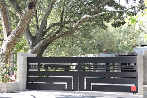 Lloyds Luxury Home Design Inc gates contemporary entry other metro by diablo iron inc