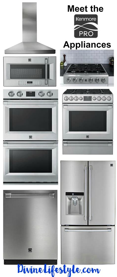 meet the kenmore pro appliances lifestyle