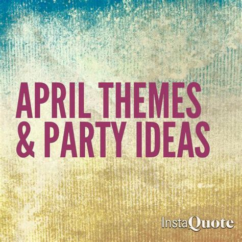 party themes april glow girls april themes and party ideas