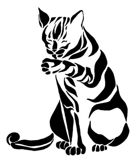 tribal cat tattoos designs tribal floral design search deco foil