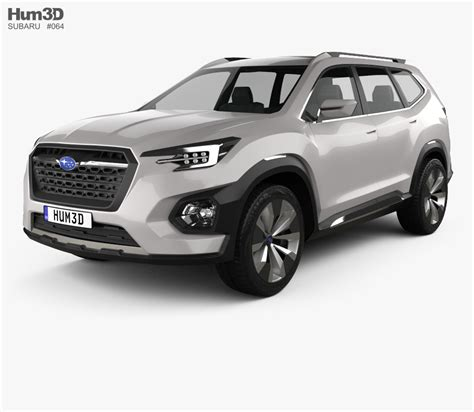 Subaru Models by Subaru Viziv 7 Suv 2016 3d Model Hum3d