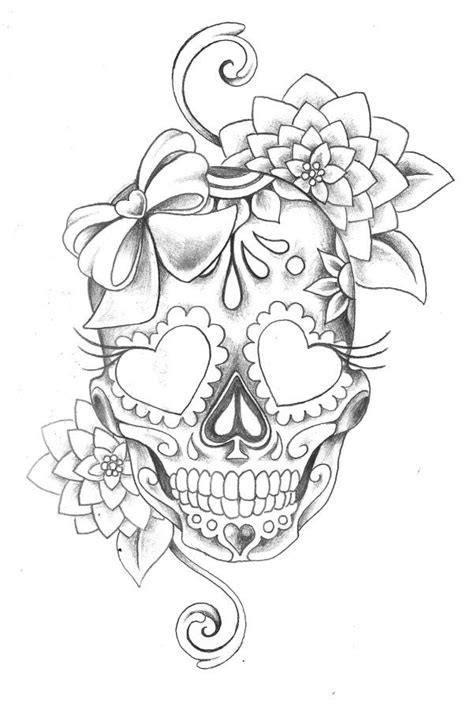 25 unique sugar skull tattoos ideas on pinterest skull