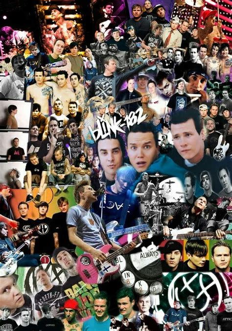 Blink 182 Collage the world s catalog of ideas