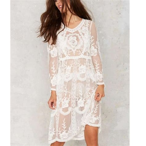 55 other lace sheer swimsuit coverup