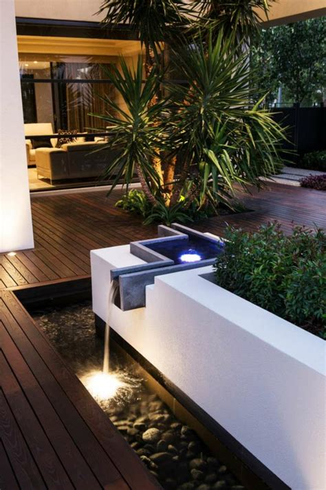 decoracion de jardines  terrazas  ideas modernas