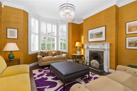 contemporary colors for living room 19 purple and gold living room designs decorating ideas