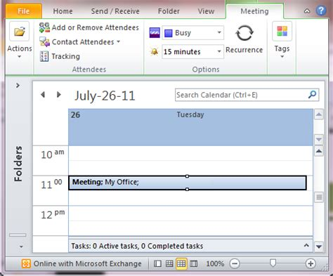Calendar Will Not Update On Cancel Meeting Request Outlook 2010 And 2013
