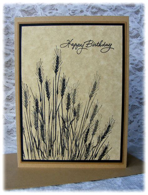 Masculine Handmade Cards - handmade masculine birthday card for him
