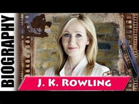 j k rowling biograf a author of harry potter series j k rowling biography