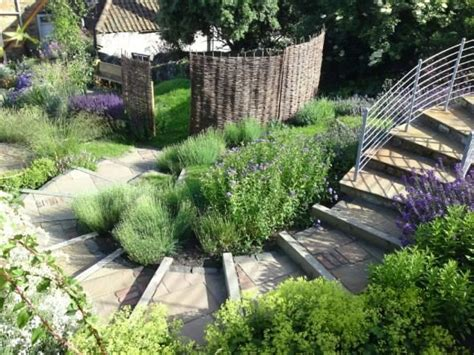 stepped garden design ideas a generous stepped path increases the drama and