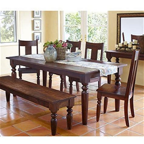 world market dining room dining table with 2 benches world market sourav collection