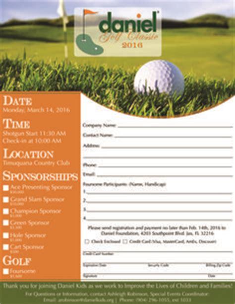 golf tournament registration form template the world s catalog of ideas