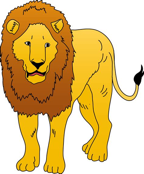 picture illustration free lion clip art pictures clipartix