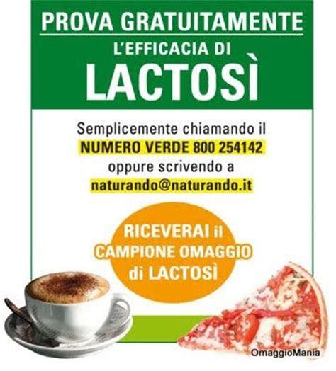 alimenti contenente lattosio cione omaggio di lactos 236 integratore per gli
