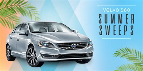 Sweepstakes Listings - shop your way volvo s60 summer sweepstakes