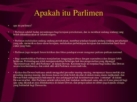 Apa Itu Guarantee Letter Kerajaan Keistimewaan Parlimen