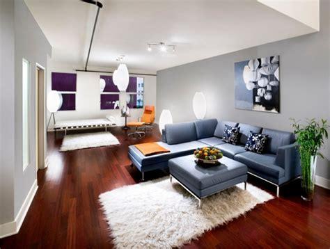 Blau Weißer Teppich by Coole Gestaltungsm 246 Glichkeiten Wohnzimmer Die Sie