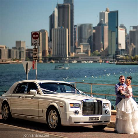 rolls royce hire sydney arrive at your wedding