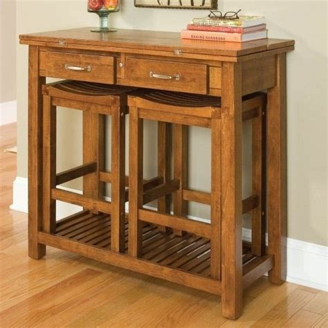 console table with stools console table with nested stools living room ideas