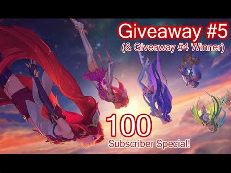 Rp Giveaway - closed rp giveaway 5 league of legends youtube