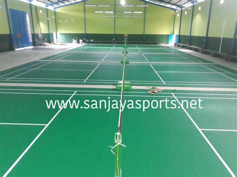 Karpet Lapangan Badminton Bekas jual perlengkapan olahraga bulutangkis badminton