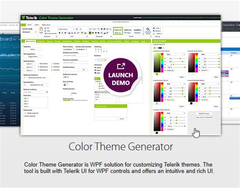 wpf themes background color color theme generator is now available for wpf
