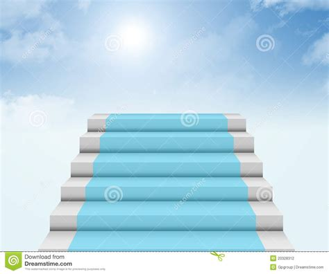 Steps To Heaven steps to heaven stock photography image 20328312