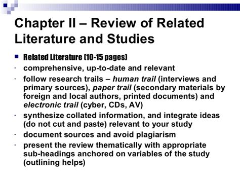 Chapter Ii Review Of Related Literature Sle by Mpa Res 2 How To Write Your Blown Research