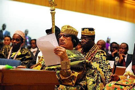 union africaine si鑒e kadhafi 171 roi des rois 187 dirigera l ua jour apr 232 s jour