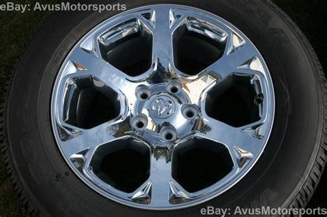 2014 dodge ram oem factory 20 quot chrome clad wheels tires
