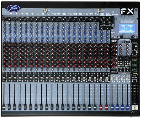 Soundcraft Lx7ii24 24 Channel Mixer Multi Effect Original fx 2 24 peavey