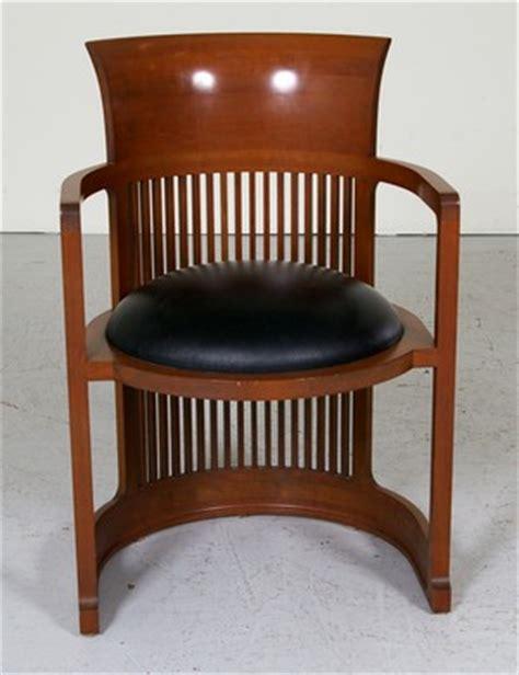 Frank Lloyd Wright Barrel Chair Lauritz Furniture Frank Lloyd Wright Barrel Chair