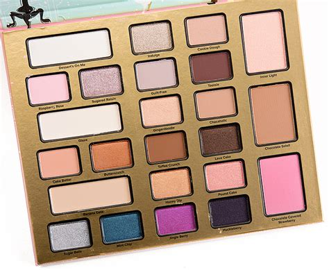 Eyeshadow The Shop faced the chocolate shop eyeshadow palette review