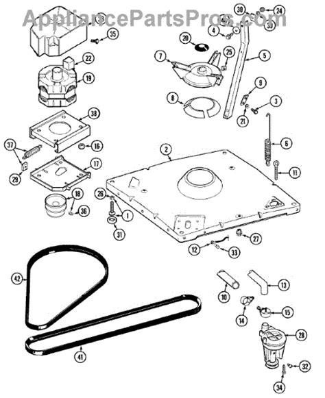 whirlpool 203956 der pad kit appliancepartspros