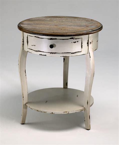 distressed wood side table abelard distressed wood side table by cyan design