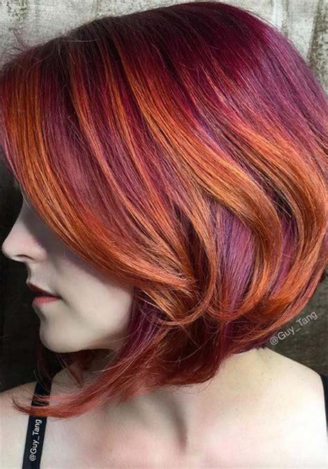 auburn copper hair color 100 badass red hair colors auburn cherry copper
